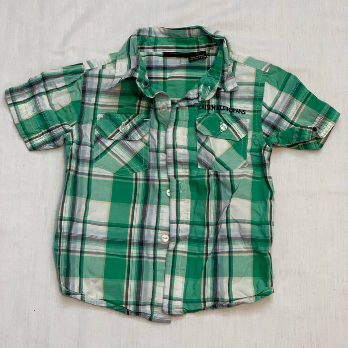 Calvin Klein dress shirt Size 2T