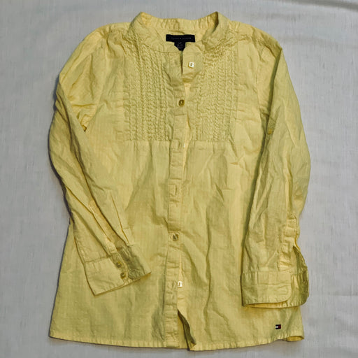 Tommy hilfigure yellow shirt