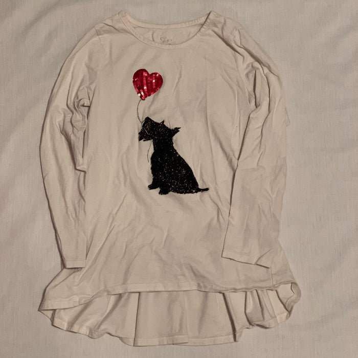 Children's place white long sleeve Size 10/12