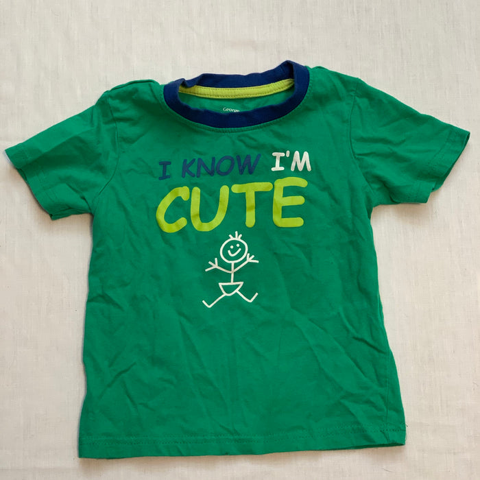 George green tee Size 18-24M