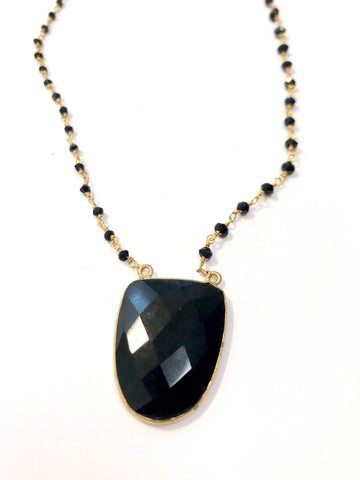 Onyx the Protection Necklace