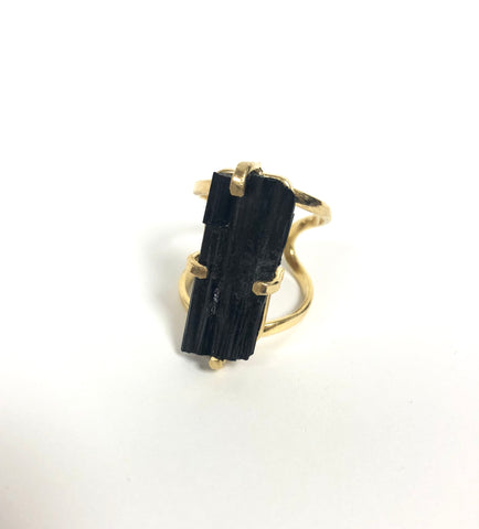 Tourmaline Grouding Ring