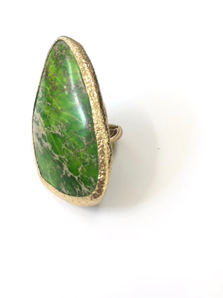 "Green Turquoise ""The Calming Ring"""