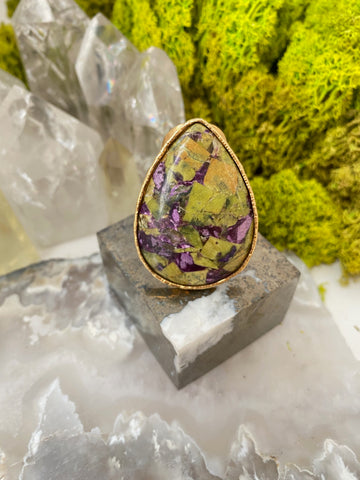 "Atlantisite ""Earthly Powers of Love & Compassion"" Ring"