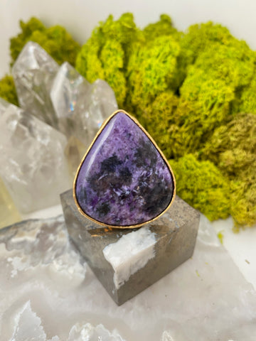 "Chaorite ""Stone of Insight"" Ring"