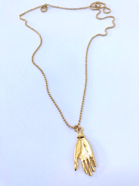 Open Hand Necklace