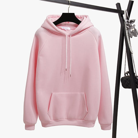 Classic Hooded Sweatshirt w/ Drawstring