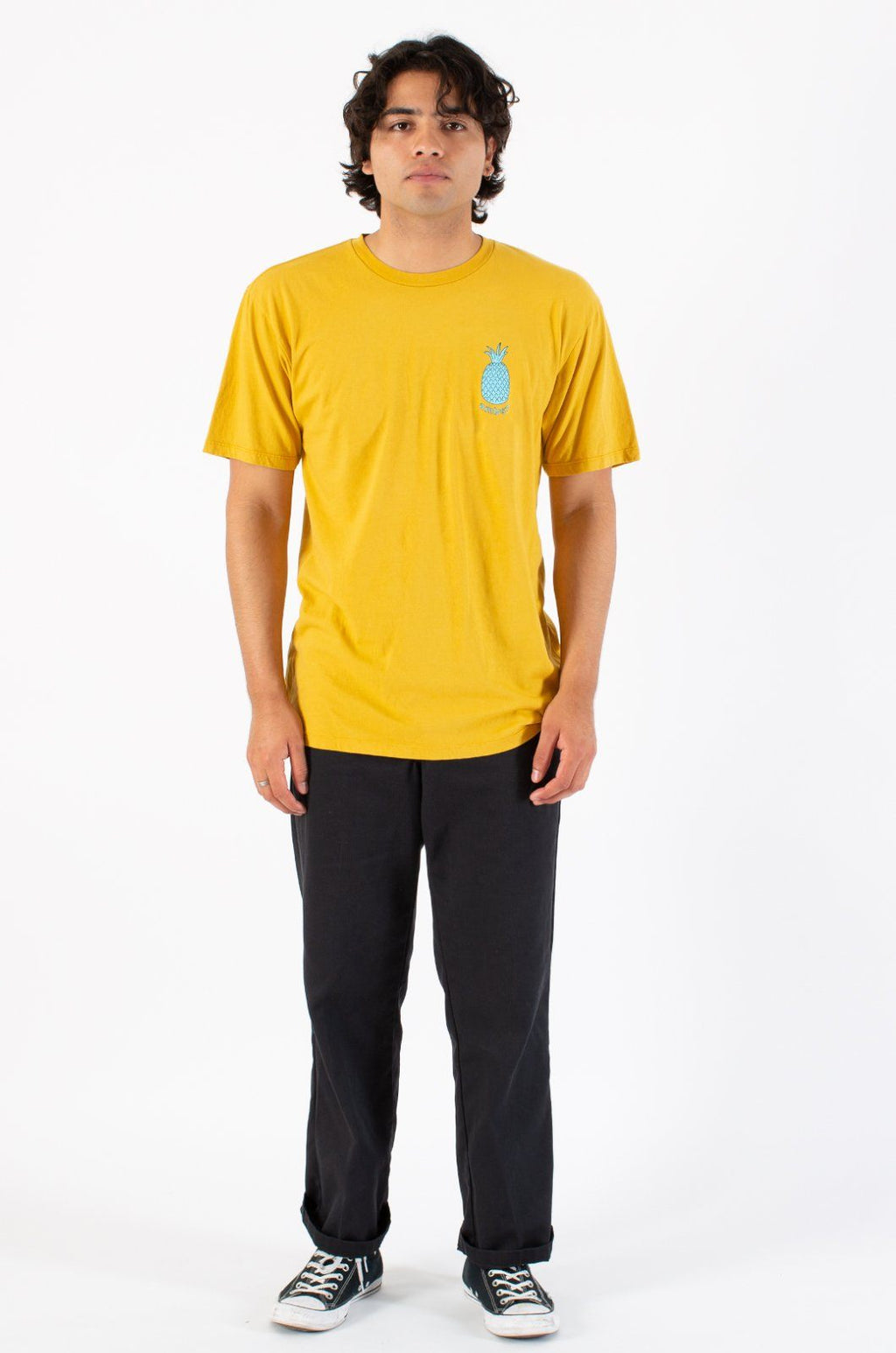 Louie T-Shirts ambsn GOLD XS