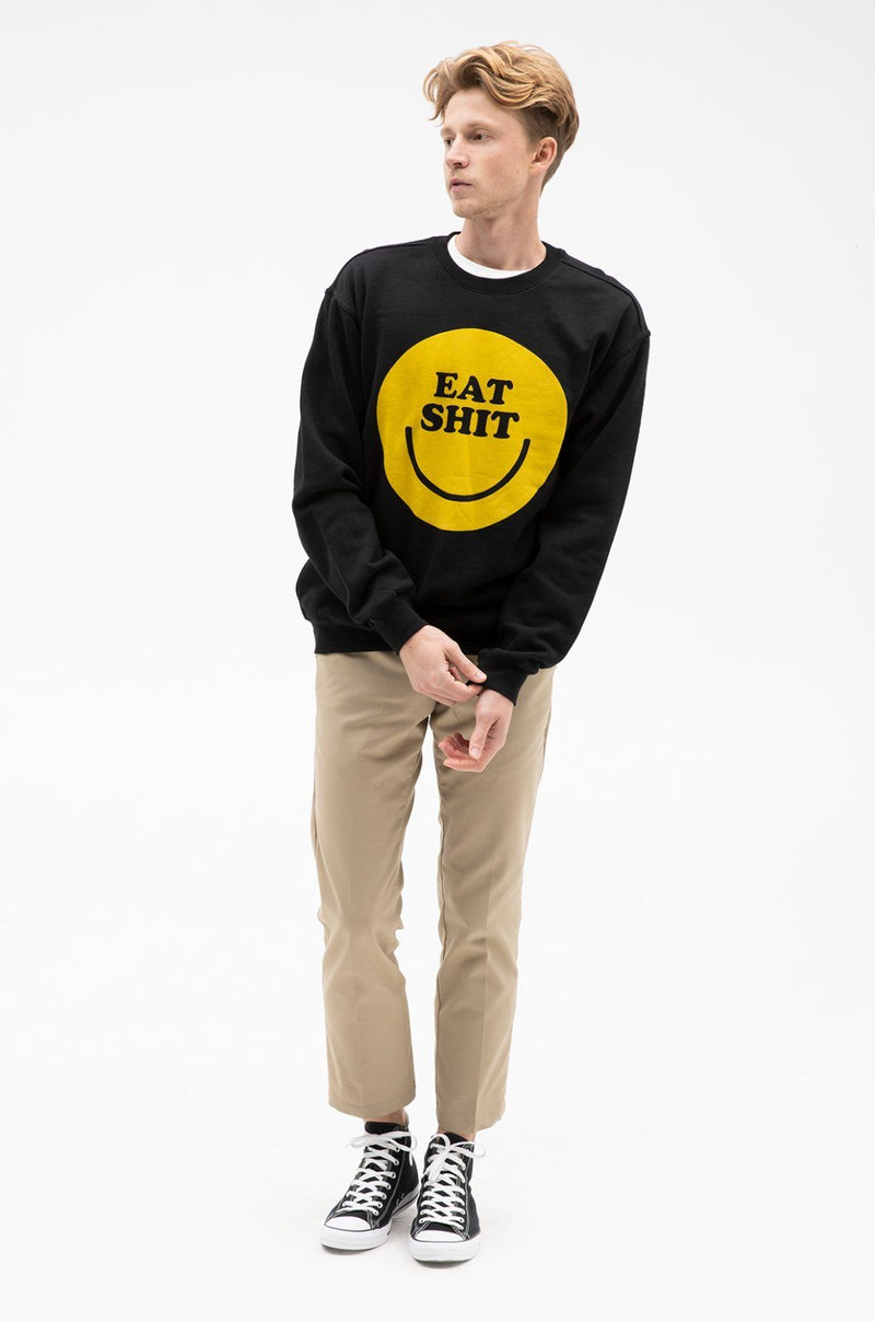 Smiley Crew Sweatshirts ambsn