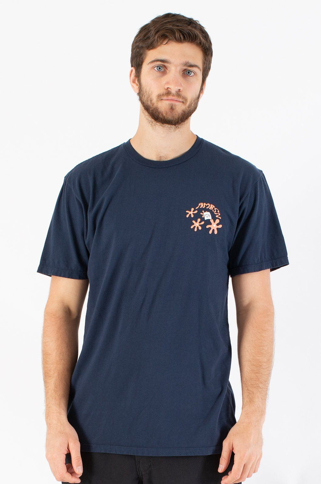 Stew T-Shirts ambsn NAVY XS