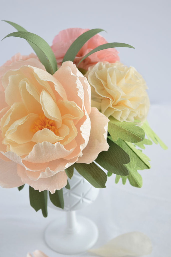 Paper flower arrangement workshop the paper place paper flower arrangement workshop july 19th 630 830pm 6500 hst mightylinksfo