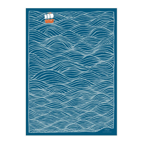Blue Ocean Gift Wrap Sheet