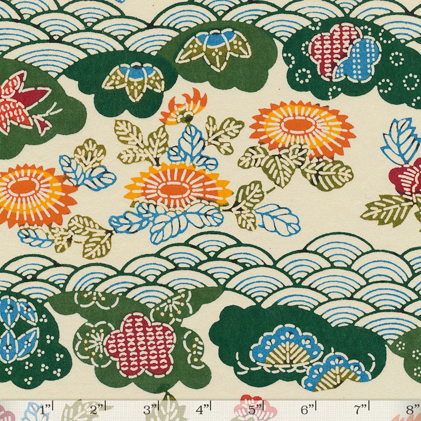 Katazome-shi 134 - Full/Half Sheet