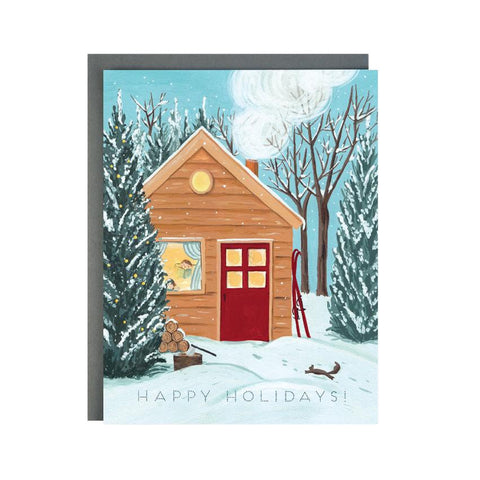 Holiday Cottage Boxed Cards