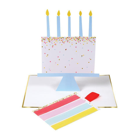 Cake Slice Single Card