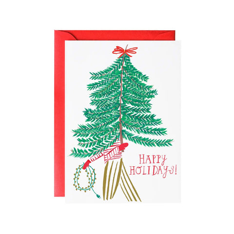 Charlie's Tree Holiday Single Card