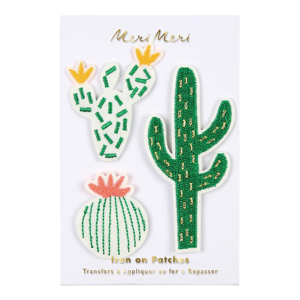 Cactus Embroidered Patches