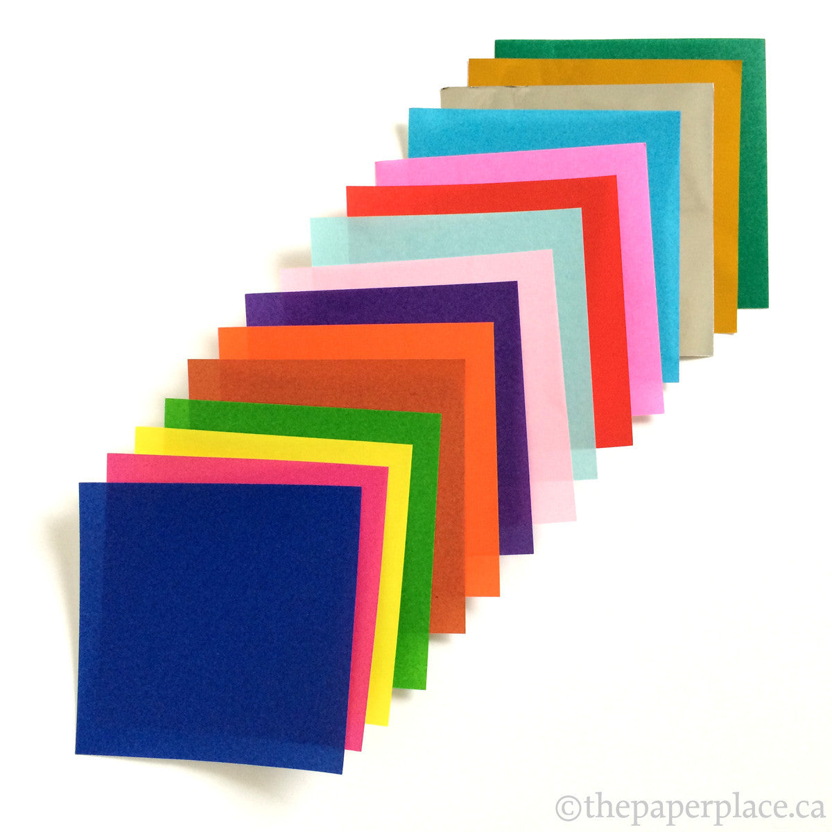 7.5cm Mixed Solid Colour Origami - 142 Sheets
