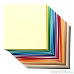 15cm Tant Mixed Colour Origami - 100 Sheets