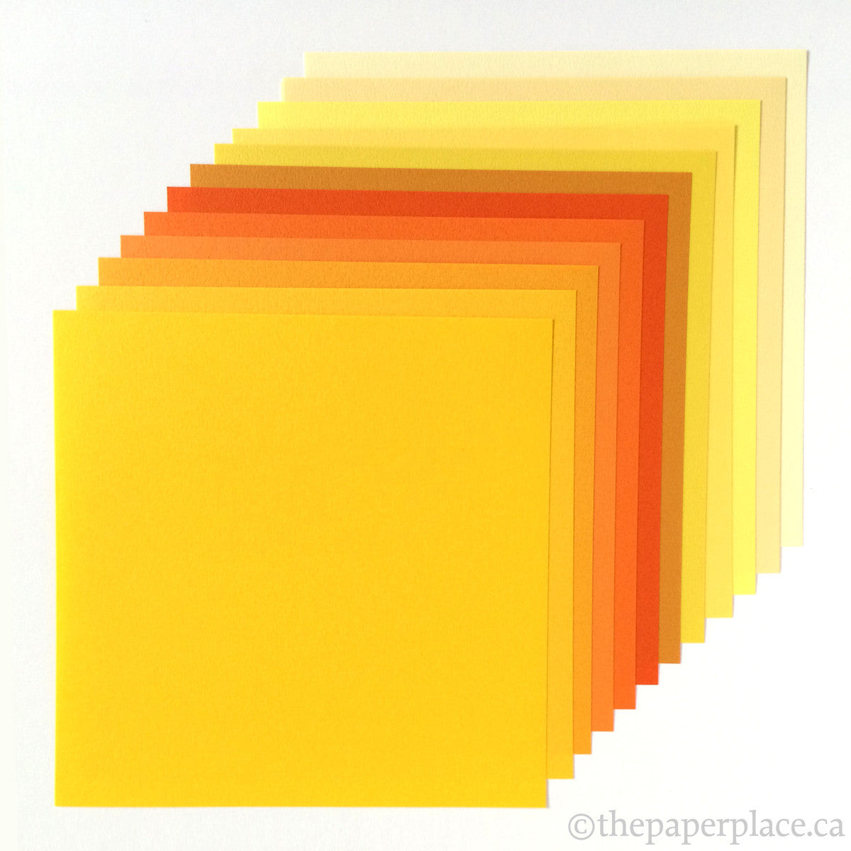 15cm Tant Yellows Origami - 48 Sheets