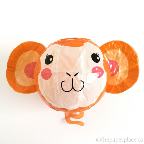 Monkey Paper Balloon