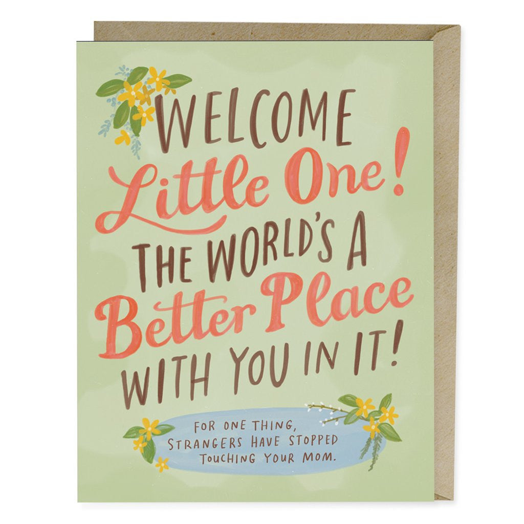 Better Place Baby Single Card