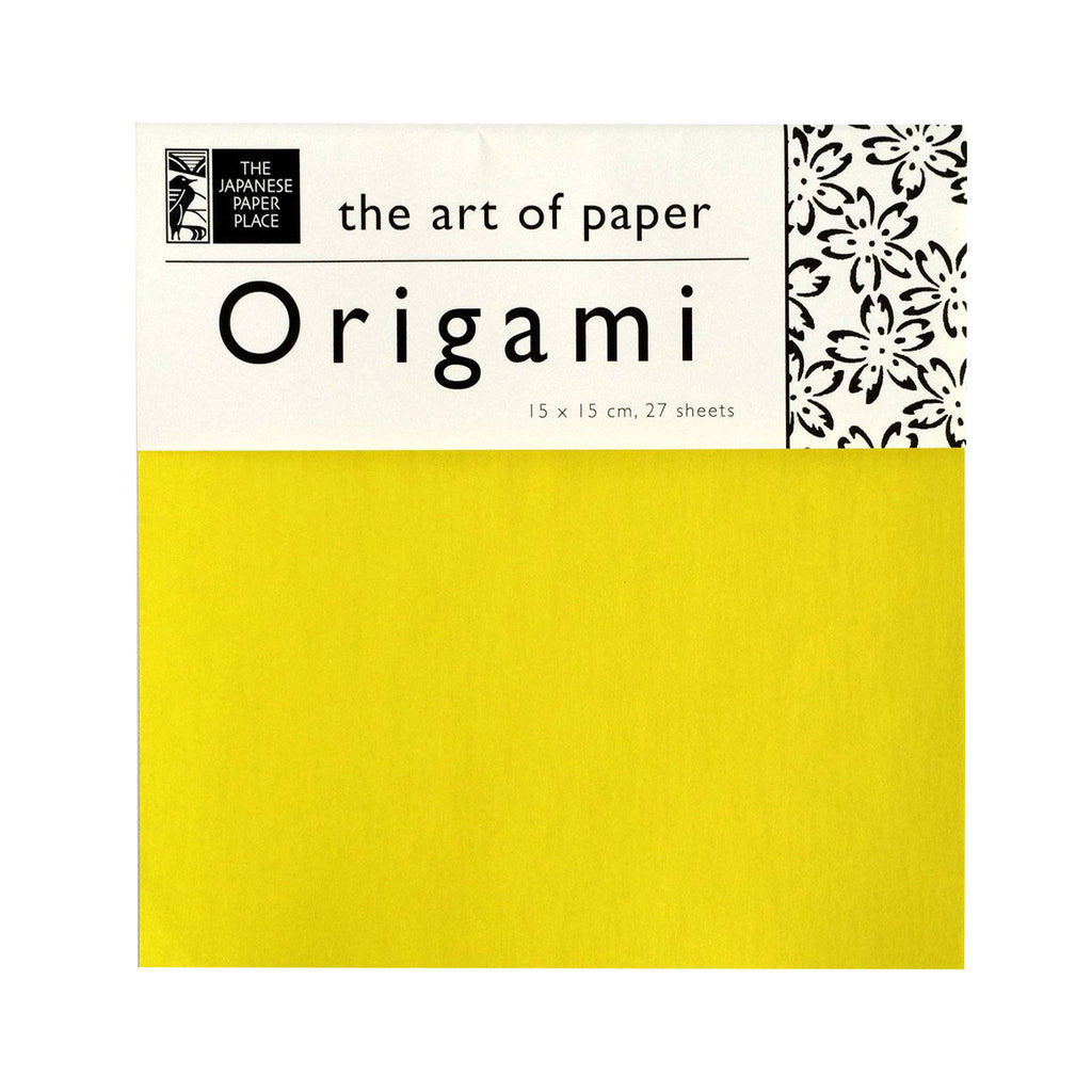 15cm Mixed Solid Colour Origami - 27 Sheets
