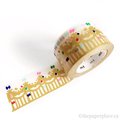 Crown Gold Washi Tape - 27mm