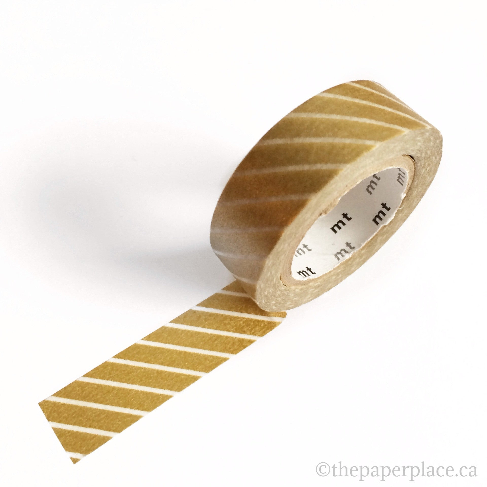 Wide Gold Stripe Washi Tape - 15mm