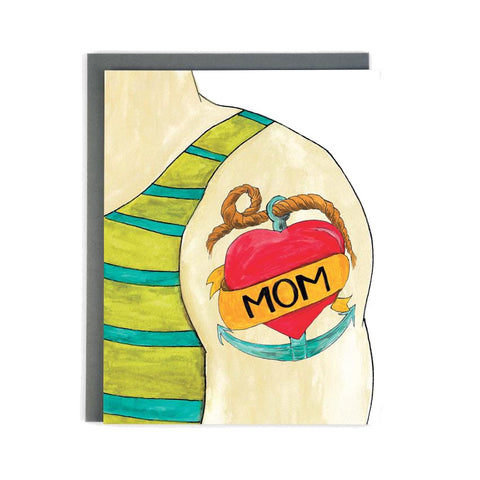 Mom Tattoo Single Card