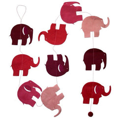 Elephant Garland - Rose