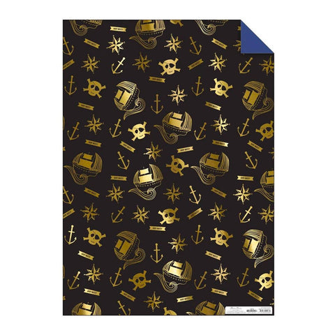 Pirate Gift Wrap Sheet