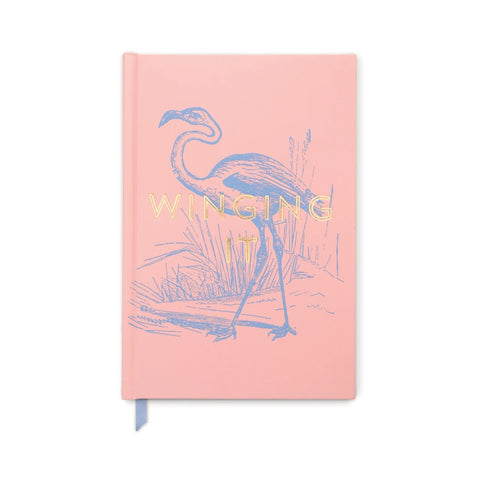 Flamingo 'Winging It' Journal