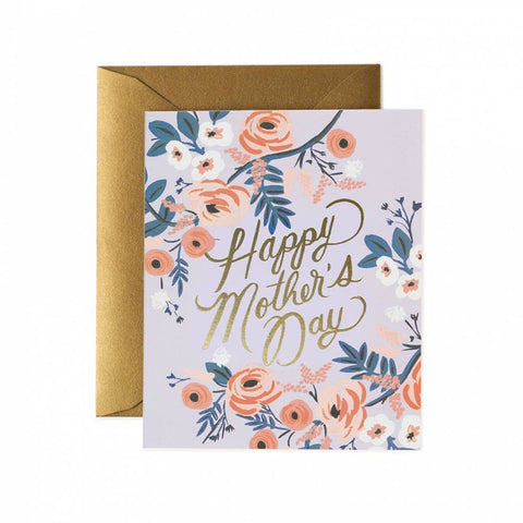 Rosy Mother's Day Single Card