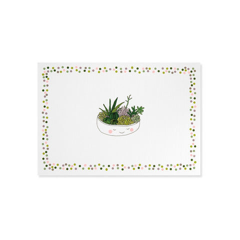 Succulents Boxed Cards