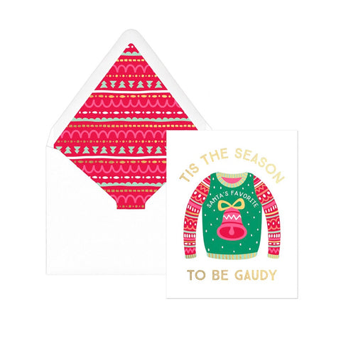 Ugly Sweater Holiday Boxed Cards