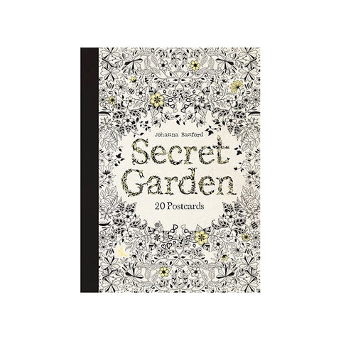 Secret Garden: 20 Colouring Postcards