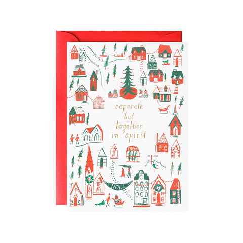 Separate But Together Holiday Single Card