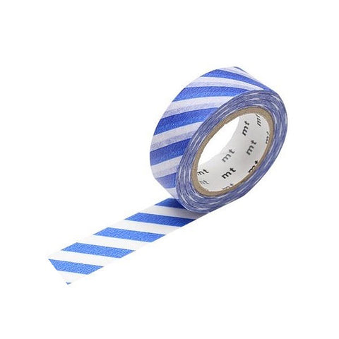 Blue Stripe Washi Tape - 15 mm