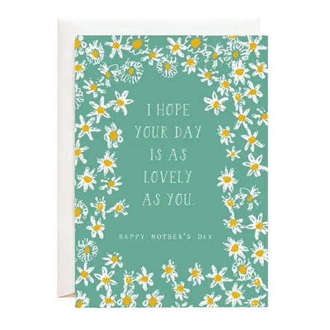 All These Daisies For Mom Single Card