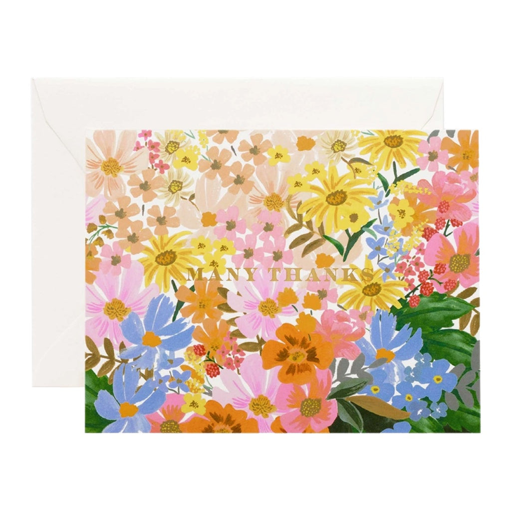 Rifle Marguerite Thank You Card