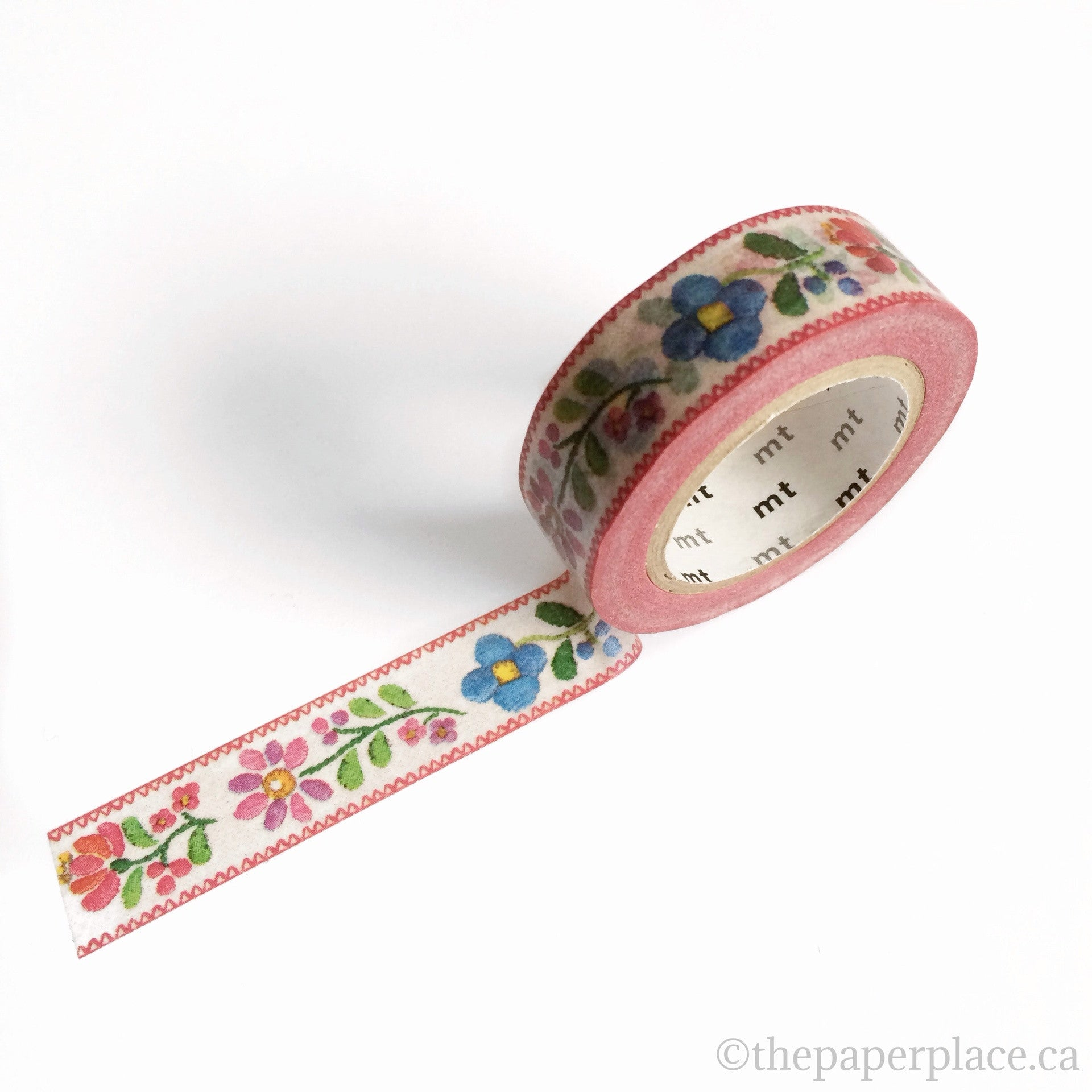 Embroidery Washi Tape - 15mm
