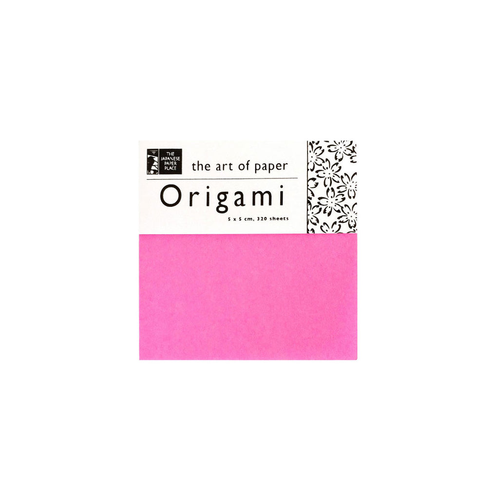 5cm Mixed Solid Colour Origami - 320 Sheets