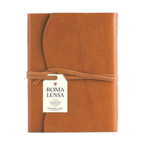 Saddle Tan Roma Lussa Journal