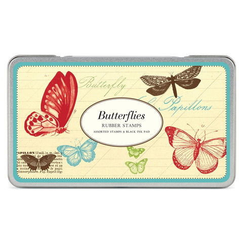Butterflies Rubber Stamp Set