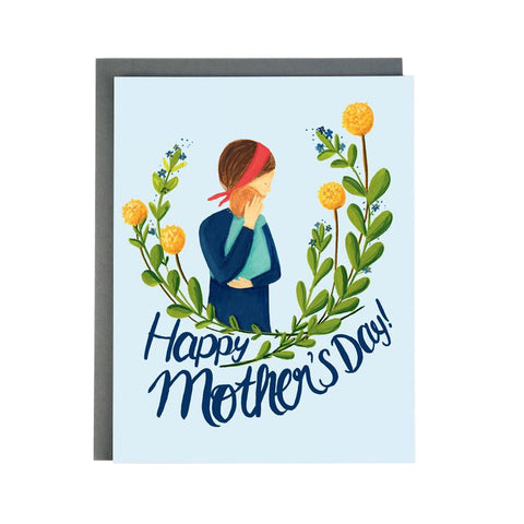 New Mom Happy Mother's Day Single Card