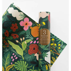 Rifle Paper Co. Terracotta Wrapping Sheets, Roll of 3