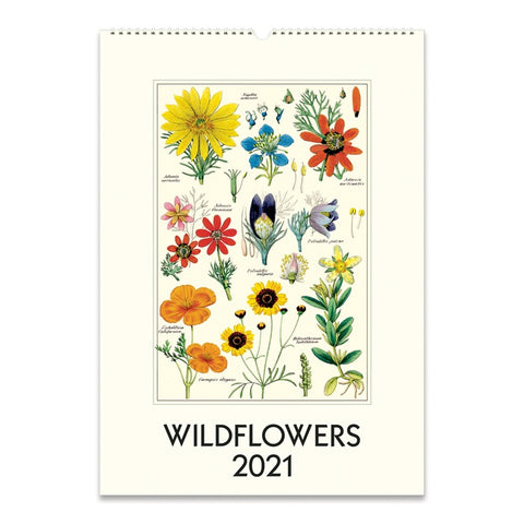 2021 Wildflowers Wall Calendar