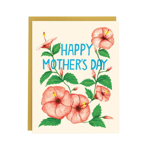 Mom Hibiscus Single Card