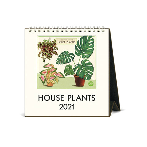 2021 House Plants Desk Calendar